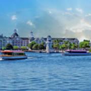 Yacht And Beach Club Walt Disney World Art Print