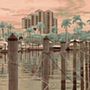 Yacht Basin Art Print