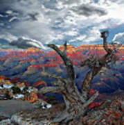 Yaki Point Grand Canyon Art Print