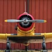 Yale And Hangar - 2018 Christopher Buff, Www.aviationbuff.com Art Print