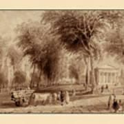 Yale University 1836 Art Print