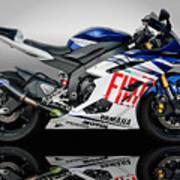 Yamaha Rossi Rep Art Print