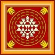 Yantra Meditation Art Print