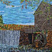 Yates Mill Art Print