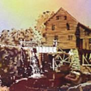 Yates Mill Park Art Print