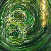 Yaweh El Shaddai Left Canvas Detail Art Print
