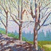 Yay-springtime Art Print