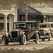 Ybor City Prop Cars Art Print