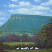 Yeats Country With Benbulben Art Print
