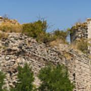 Yedikule Fortress Ruins Art Print