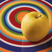 Yellow Apple  Art Print