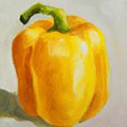 Yellow Bell Pepper Art Print