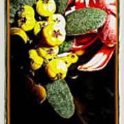 Yellow Berries Art Print