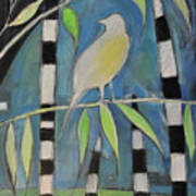 Yellow Bird Up High... Art Print