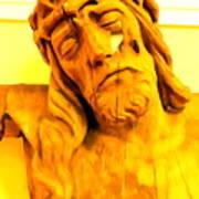 Yellow Christ #1 Art Print