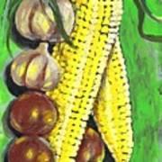 Yellow Corn Art Print