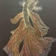 Yellow Fish Art Print