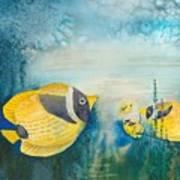 Yellow Fish Yellow Fish Art Print