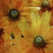 Yellow Flowers Impression 2937 Idp_3 Art Print