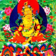 Yellow Jambhala 17 Art Print