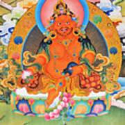 Yellow Jambhala 21 Art Print