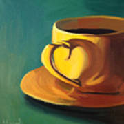 Yellow Java Art Print