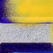 Yellow Art Print by Marc Huebner