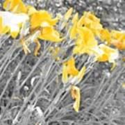 Yellow Moment In Time Art Print