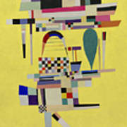 Yellow Painting Art Print
