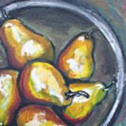 Yellow Pears Art Print