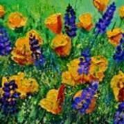 Yellow Poppies 560190 Art Print