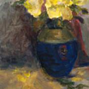Yellow Roses Art Print by Rita Bentley