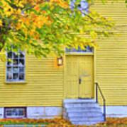 Yellow Shaker House Art Print