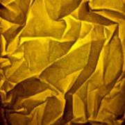 Yellow Sorrow Art Print