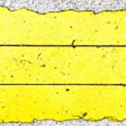 Yellow Stone Art Print
