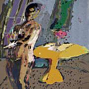 Yellow Table II Art Print