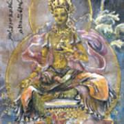 Yellow Tara  Art Print