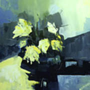 Yellows Art Print