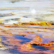 Yellowstone Abstract II Art Print