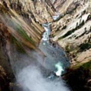 Yellowstone Fall Art Print