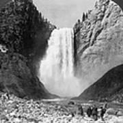 Yellowstone: Grand Falls Art Print