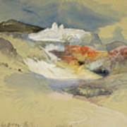 Yellowstone, Hot Springs, July 21, 1892 Art Print