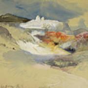 Yellowstone, Hot Springs, July 21, 1892 Art Print