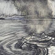 Yellowstone Lake Art Print