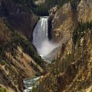 Yellowstone Lower Falls Art Print