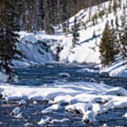 Yellowstone Winter One Art Print