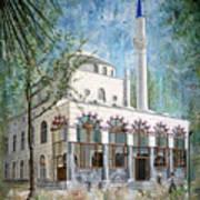 Yeni Cami, Fethiye Art Print
