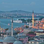 Yeni Camii Art Print