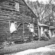 Yesteryear Old Slave Quarters Art Print