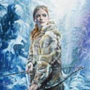 Ygritte The Wilding Art Print